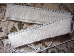 Мастер класс по вязанию спицами двойной резинки