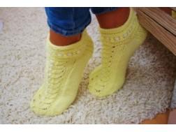 Мастер класс по вязанию носков на двух спицах