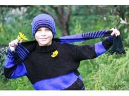 Вязание стильных вещей для ребенка с подробным описанием и схемами