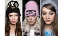 Модные женские и мужские шапки зима-осень-весна  2017 года