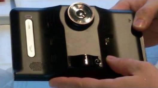 встроен видеорегистратор