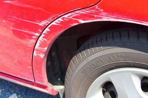 повреждение автомобиля