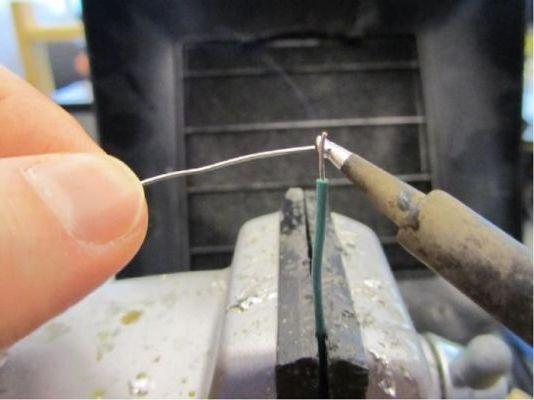 процесс пайки серебра