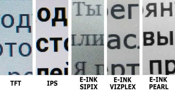 как видно шрифт