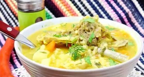 суп готов к еде