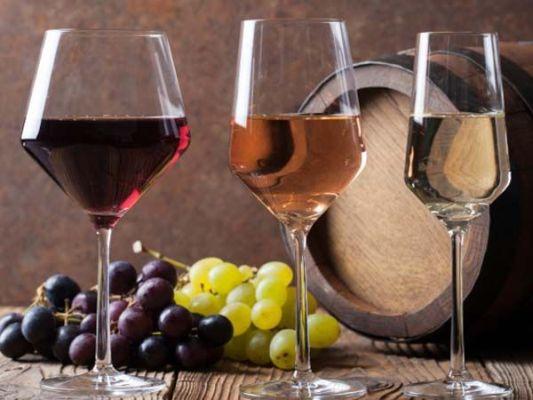 три вида вина