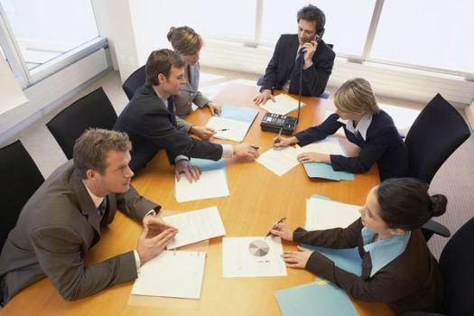 собрание бизнесменов