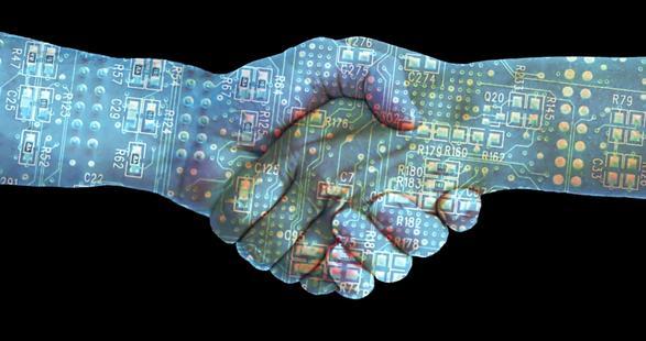 партнерское рукопожатие