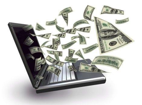 деньги из ноутбука