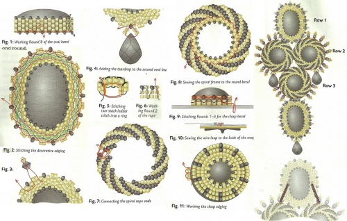 элементы для плетения