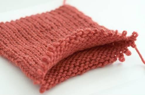 вязание двойной резинки