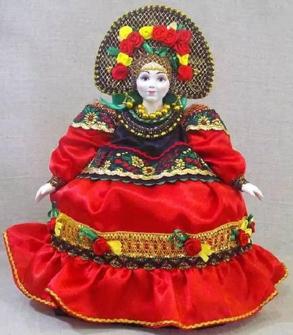 грелка кукла на чайник
