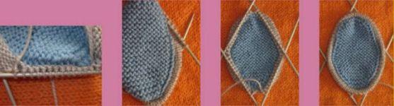 формирование носка