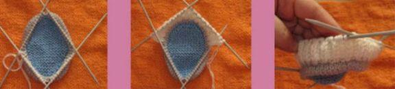 вязание боков