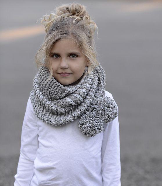 шарф вокруг шеи