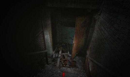 спуститься в подвал