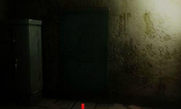 дверь в темноте