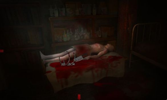 труп в крови