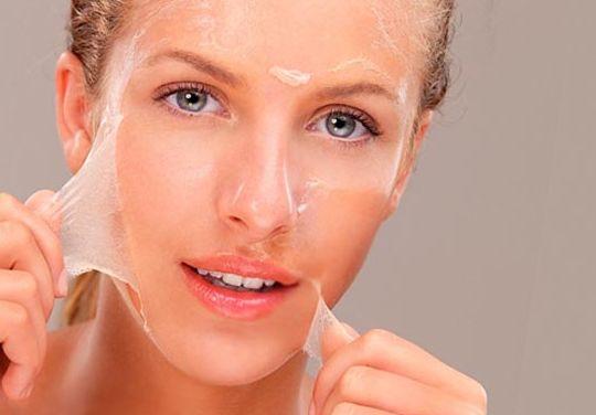 кожа с лица