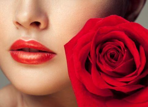 губы как роза