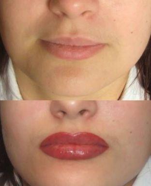 губы татьяны