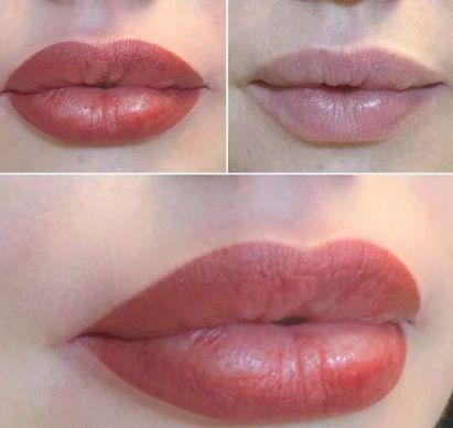 губы розы