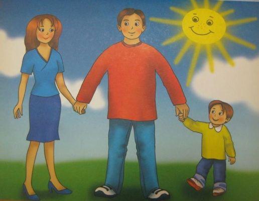 семья под солнцем