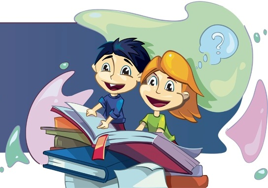 дети за книжкой
