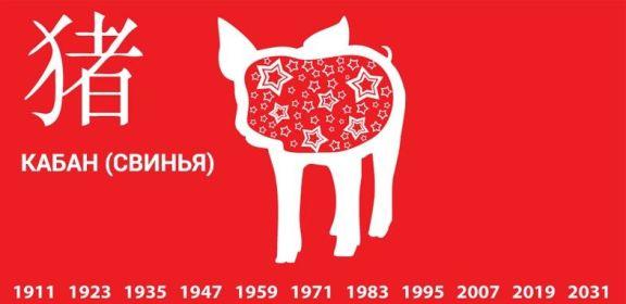 свинья кабан