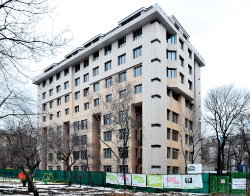 реставрация пятиэтажки