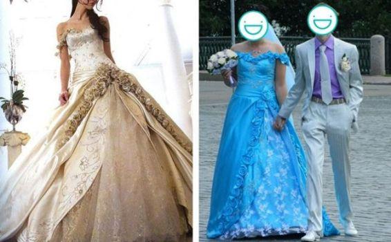 платье для свадьбы и мужа