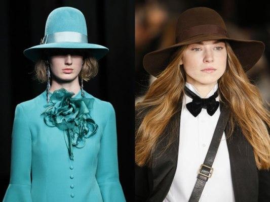 шляпы с полями