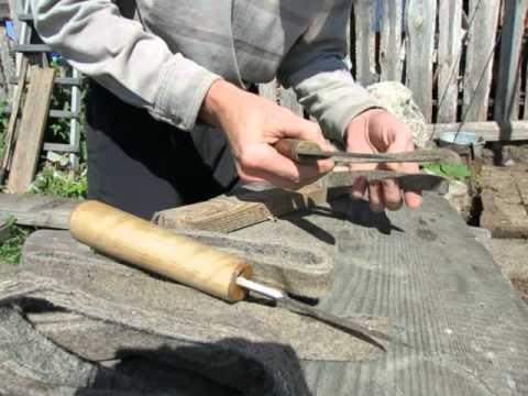 самостоятельное изготовление ножей